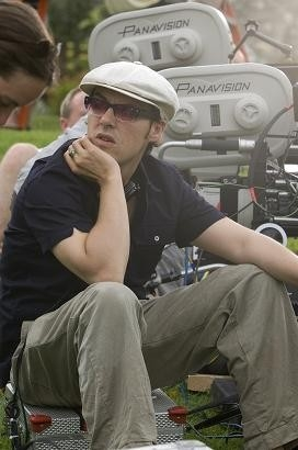 Joe Wright sul set del film Espiazione