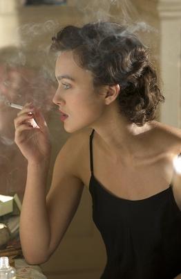 Keira Knightley in una scena del film Espiazione (Atonement)