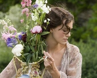 Keira Knightley in una scena del dramma Espiazione
