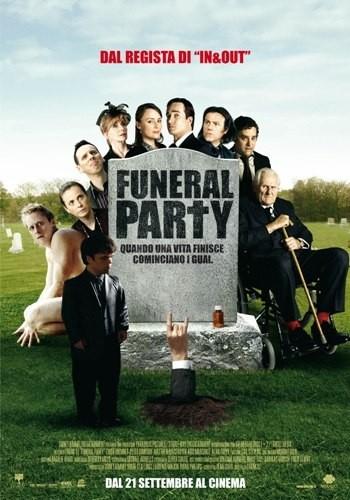 La locandina italiana di Funeral Party