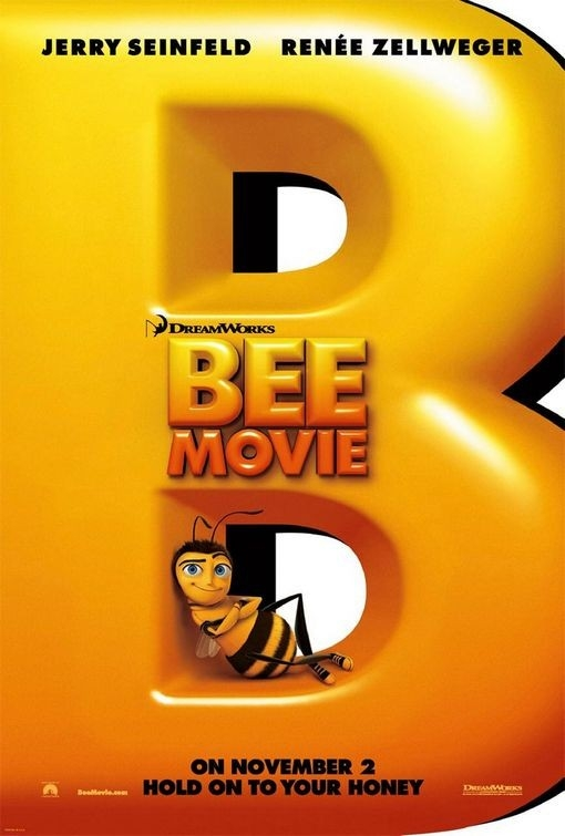 La locandina di Bee Movie