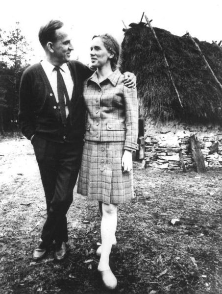 Ingmar Bergman e Liv Ullman