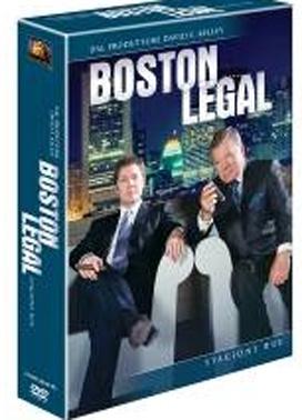 La copertina DVD di Boston Legal - Stagione 2