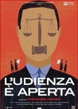 La copertina DVD di L'udienza è aperta
