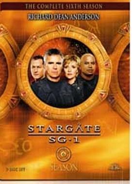 La copertina DVD di Stargate SG-1 - Stagione 6