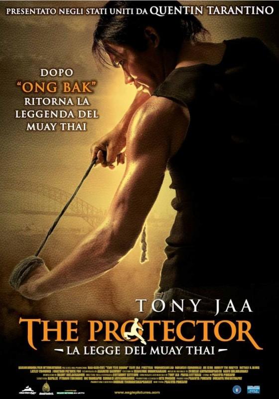 La locandina italiana di The Protector