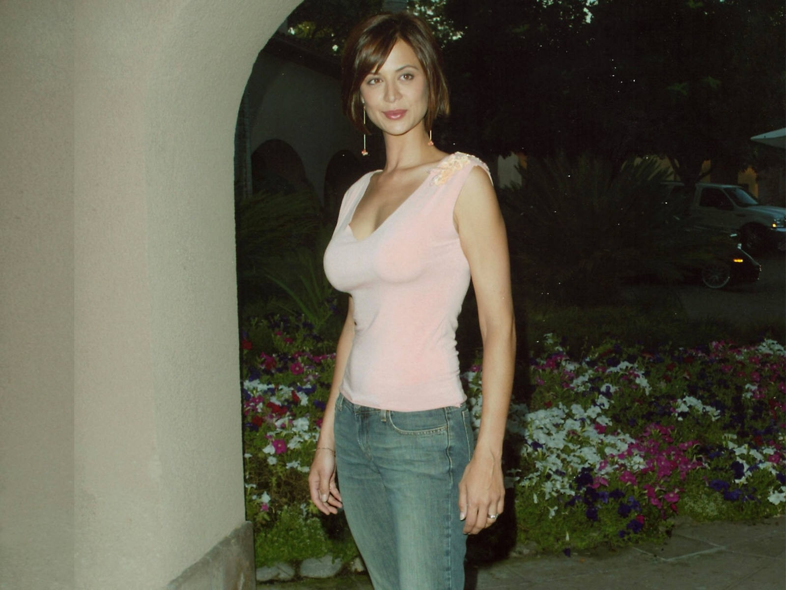 Wallpaper dell'attrice inglese Catherine Bell