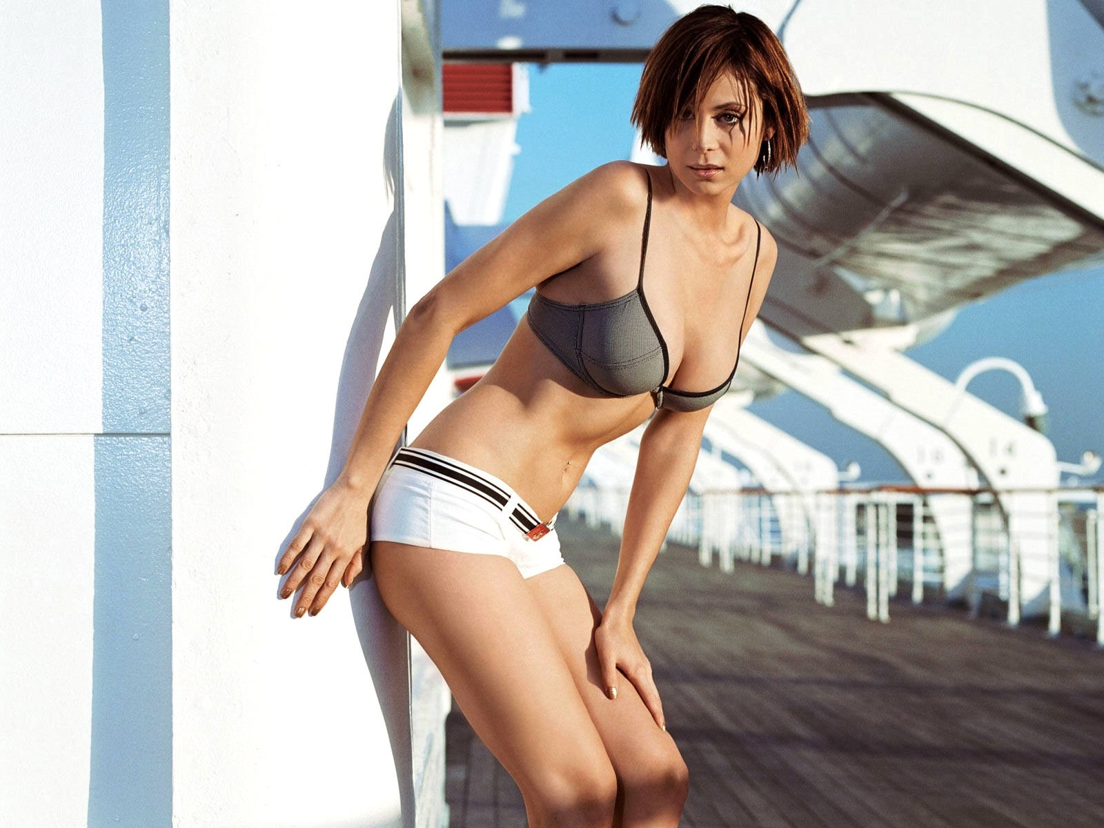 Wallpaper dell'attrice londinese Catherine Bell