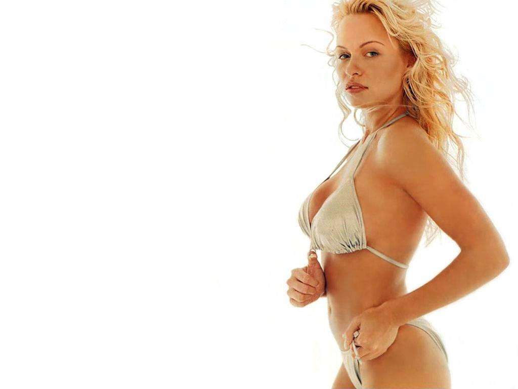 Wallpaper di Pamela Anderson in costume