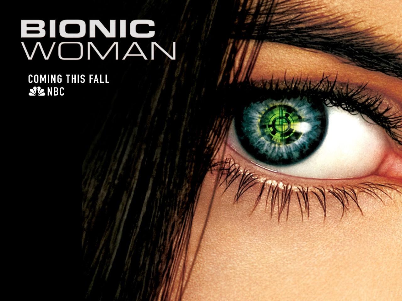 Uno dei wallpaper della serie Bionic Woman
