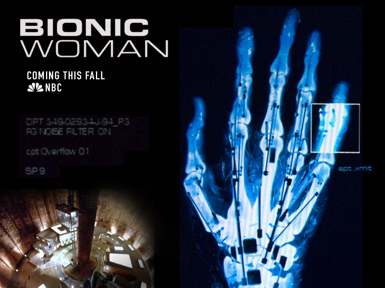 Un wallpaper della serie Bionic Woman