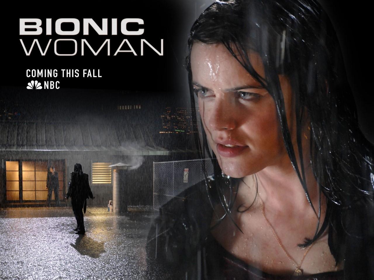 Wallpaper della serie Bionic Woman