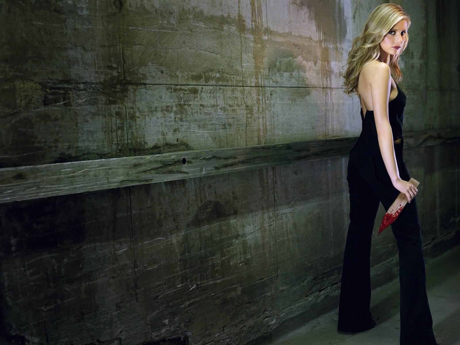 Wallpaper di Sarah Michelle Gellar nei panni di Buffy Summers