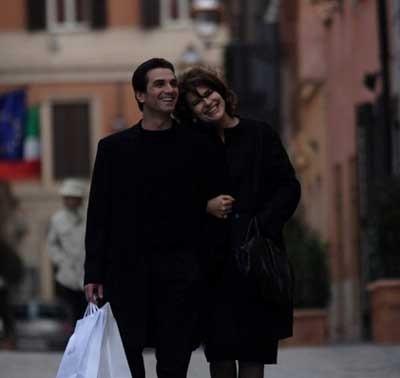 Fanny Ardant e Michele Lastella in una scena de L'ora di punta