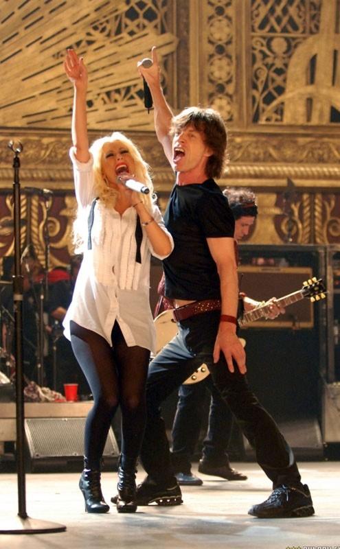 Mick Jagger in un'immagine del film Shine a Light