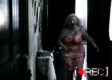 Una delle sequenze più spaventose del film Rec
