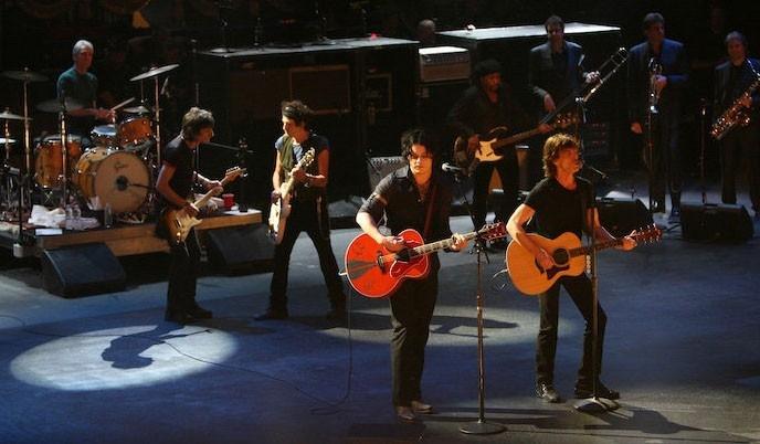 Un'immagine del film Shine a Light