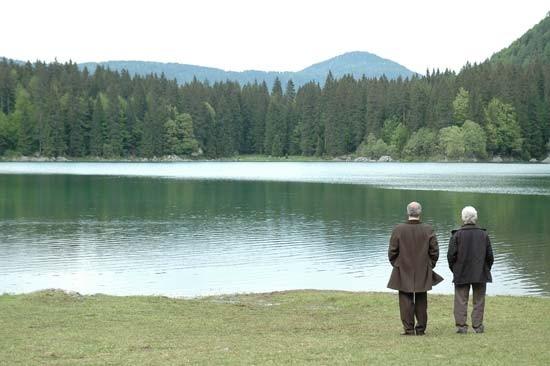 una scena de La ragazza del lago
