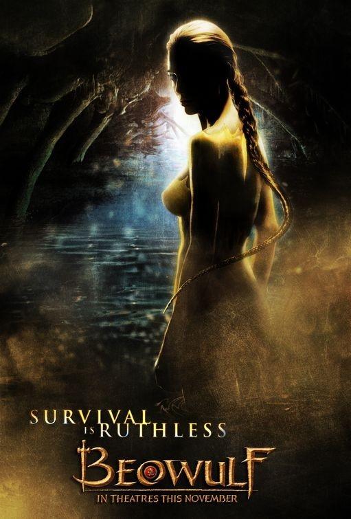 Uno dei poster realizzati per il film Beowulf