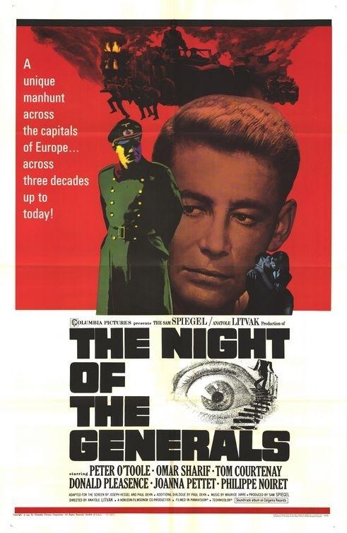 La locandina di La notte dei generali