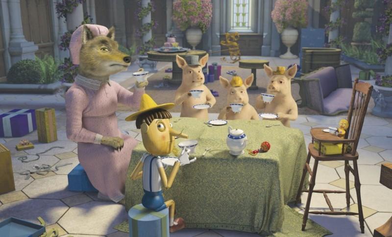 Un'immagine del film d'animazione Shrek Terzo