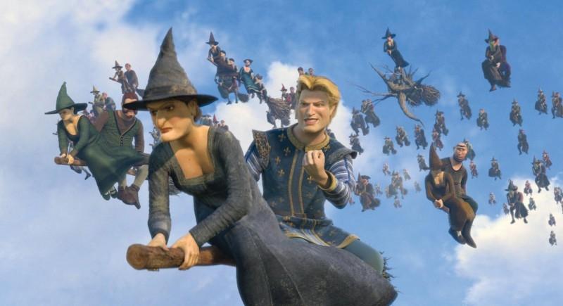 Un'immagine del film Shrek the Third