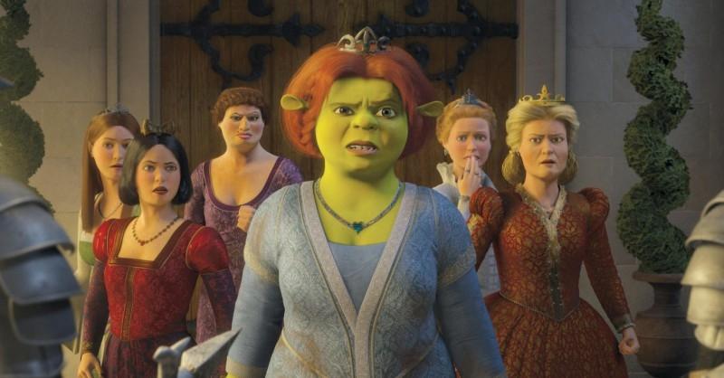 Un'immagine del film Shrek Terzo.