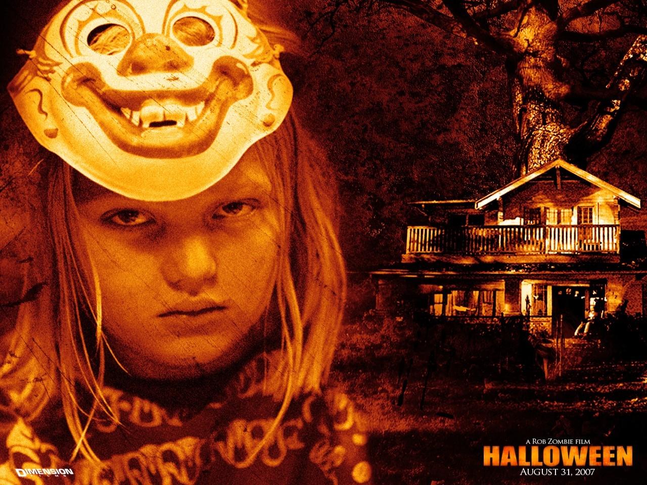 Un wallpaper del film Halloween: The beginning
