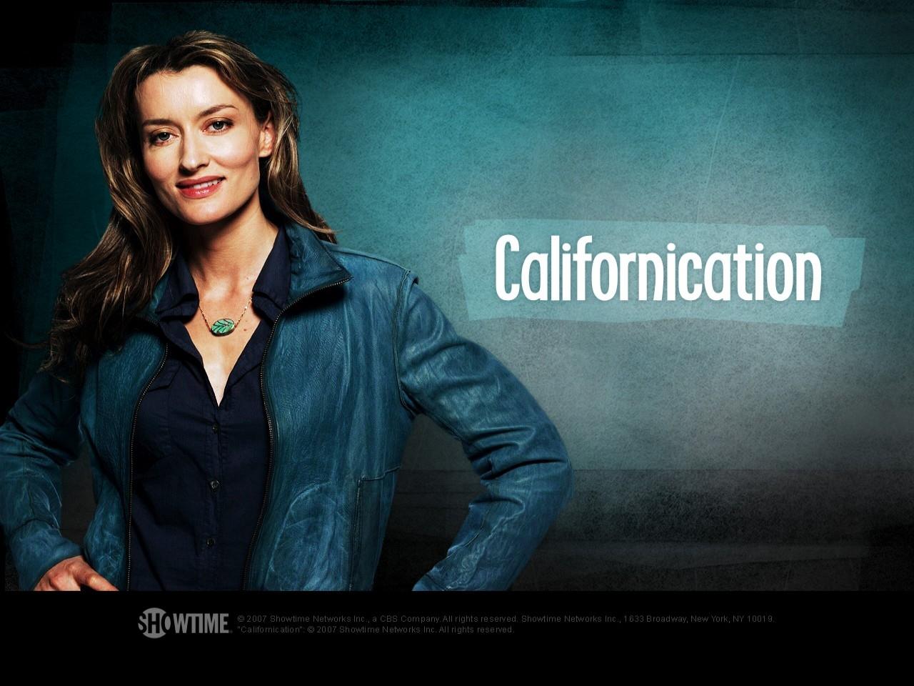 Wallpaper della serie Californication, con Natascha McElhone