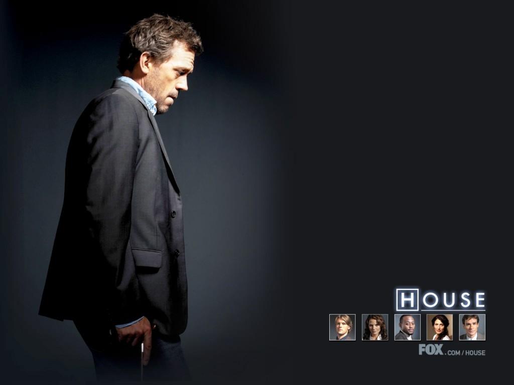 Wallpaper della serie Dr House: Medical Division con Hugh Laurie