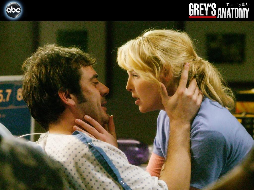 Wallpaper per l'acclamata serie Grey's Anatomy