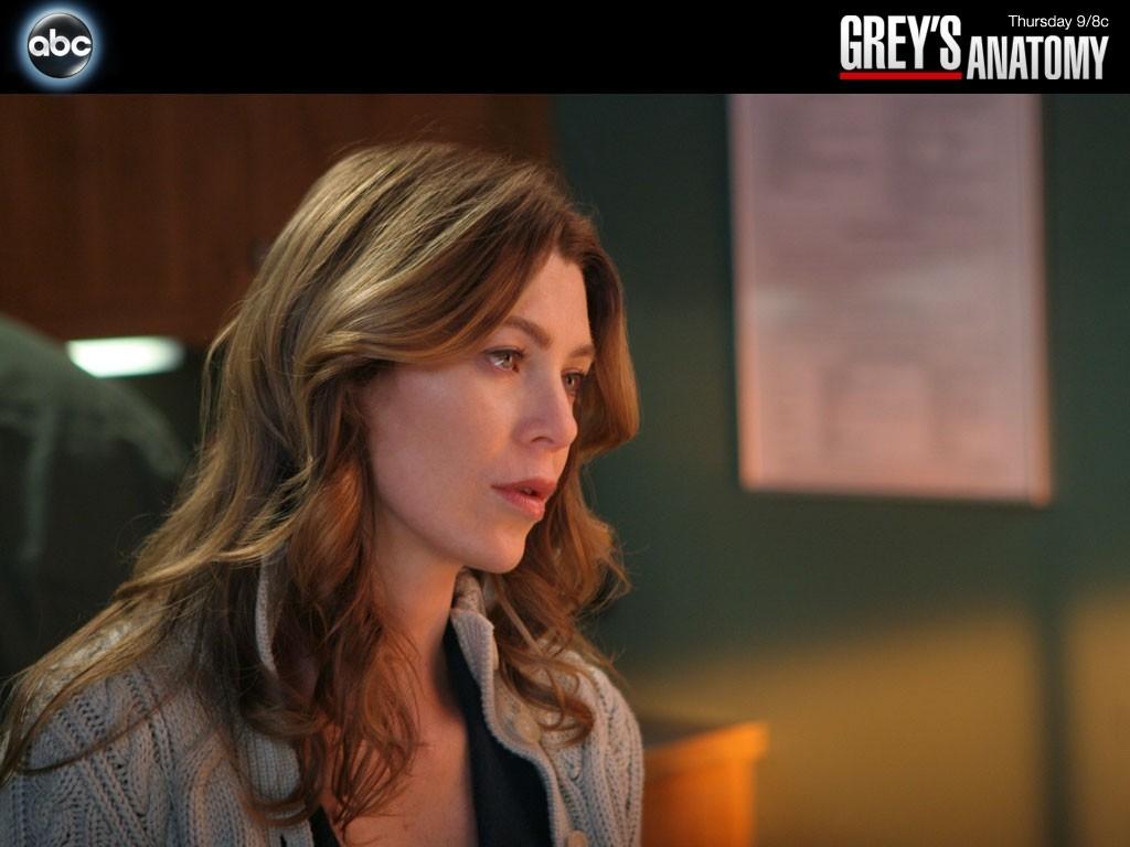 Wallpaper della serie Grey's Anatomy: Ellen Pompeo