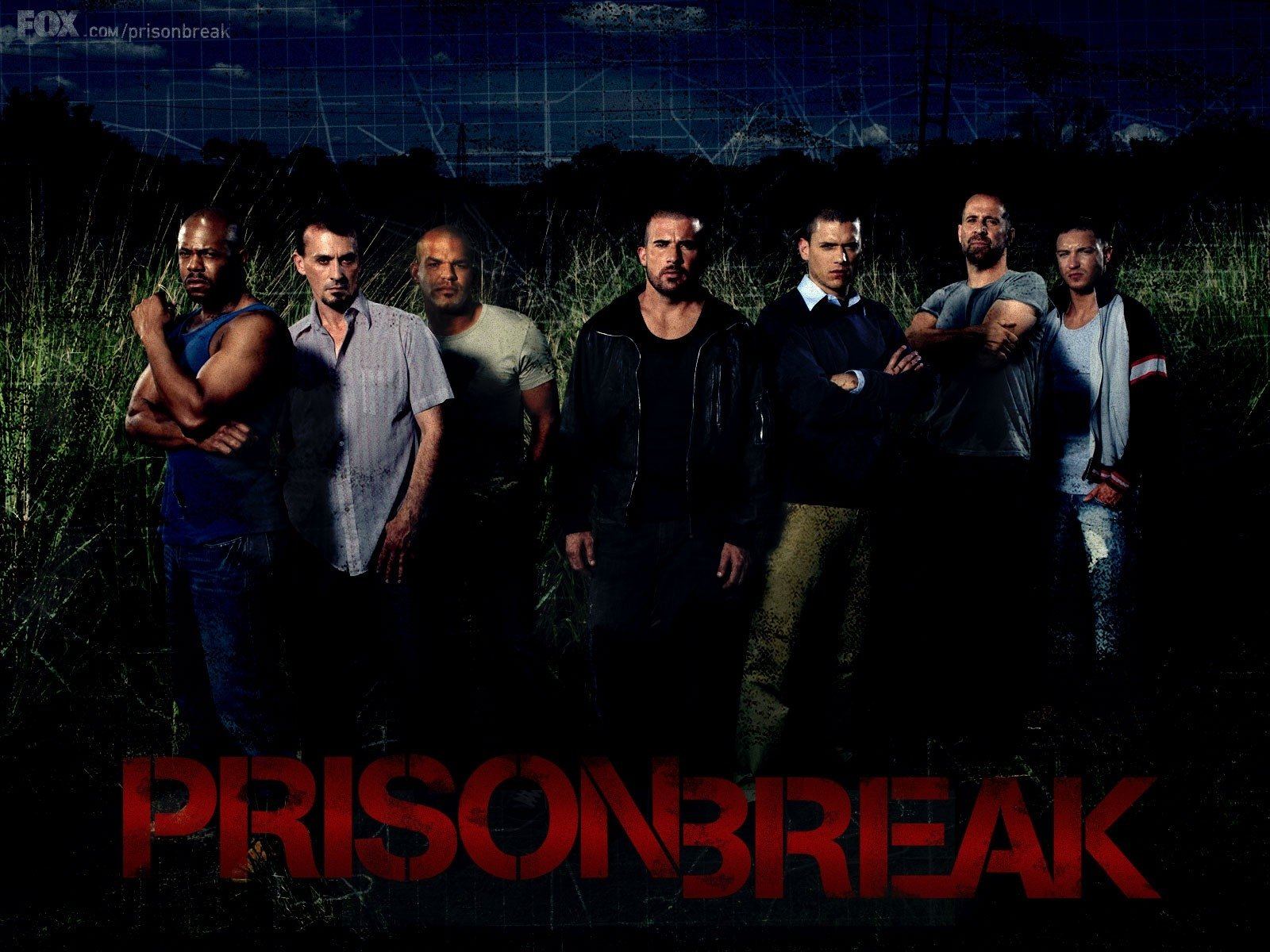 Wallpaper della serie televisiva Prison Break