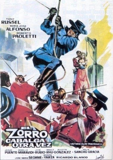 La locandina di Il giuramento di Zorro