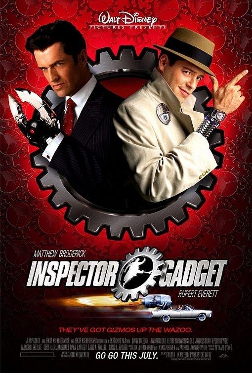 La locandina di Inspector Gadget