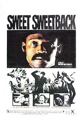 La locandina di Sweet Sweetback's Baadasssss Song