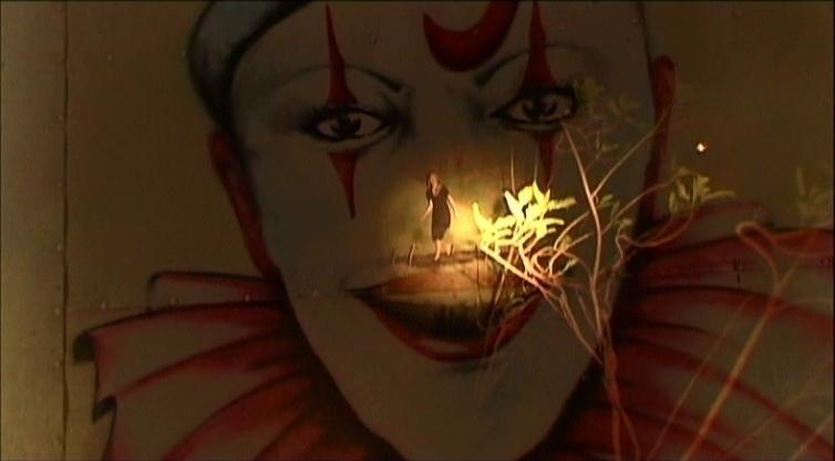 L'attrice Laura Dern in una sequenza di INLAND EMPIRE