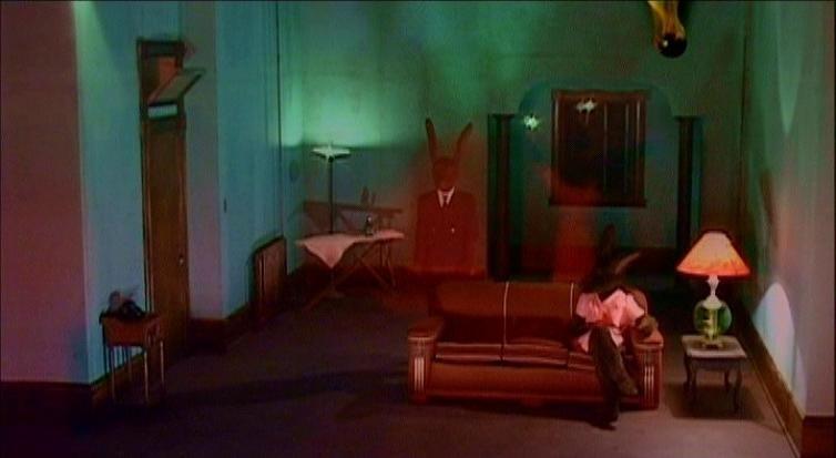 Una scena di INLAND EMPIRE, diretto da Lynch nel 2006