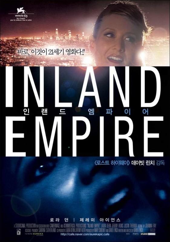 La locandina coreana di INLAND EMPIRE