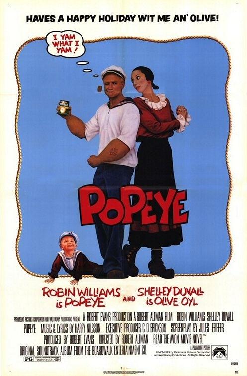La locandina di Popeye - Braccio di Ferro