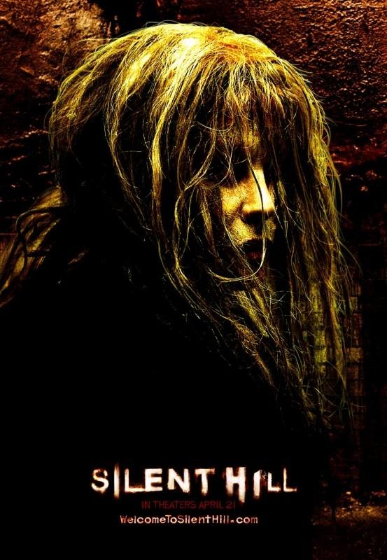 Un manifesto promozionale dell'horror SILENT HILL