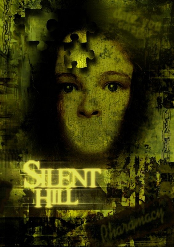 manifesto promozionale di SILENT HILL
