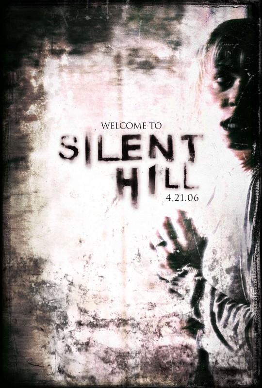 Un manifesto promozionale di SILENT HILL