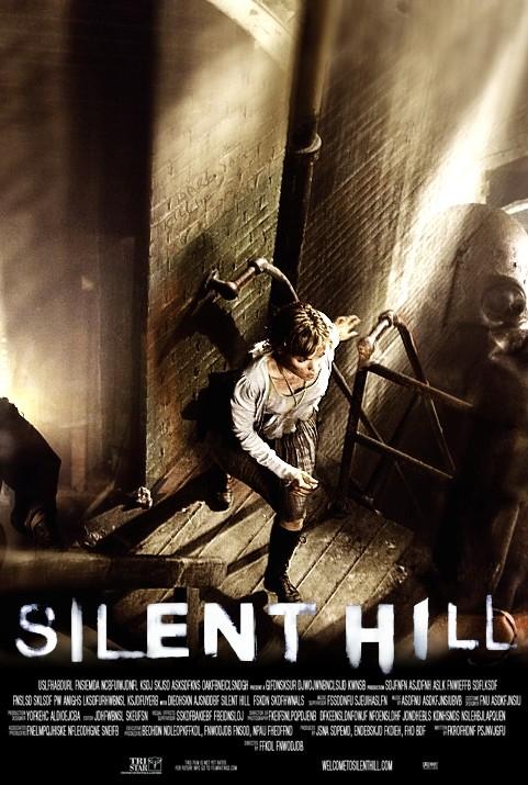 Una delle locandine di SILENT HILL, diretto da Christophe Gans