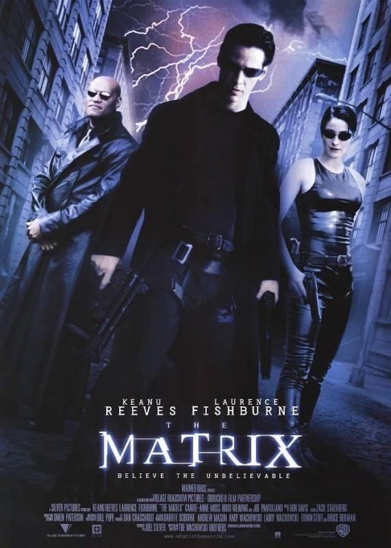 Una delle locandine originali di MATRIX - 1
