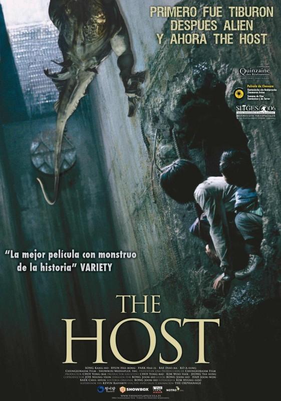 Una locandina spagnola di THE HOST