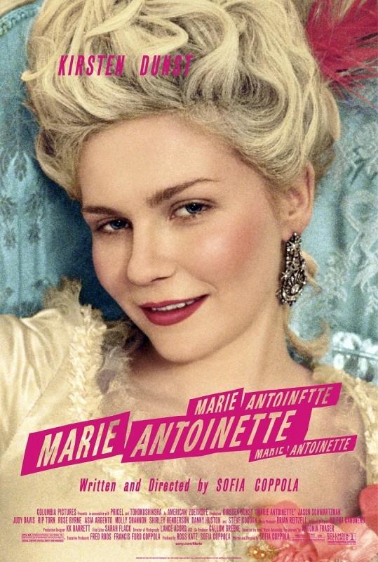La locandina originale di MARIE ANTOINETTE