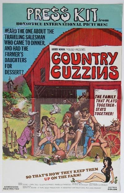 La locandina di Country Cuzzins