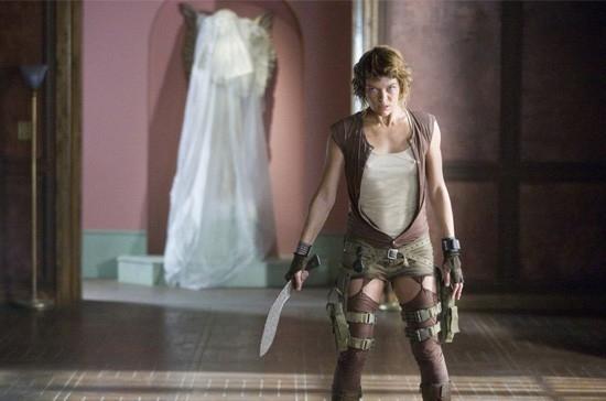 Milla Jovovich è l'eroina di RESIDENT EVIL: EXTINCTION