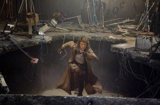 Milla Jovovich in una scena del film RESIDENT EVIL: EXTINCTION
